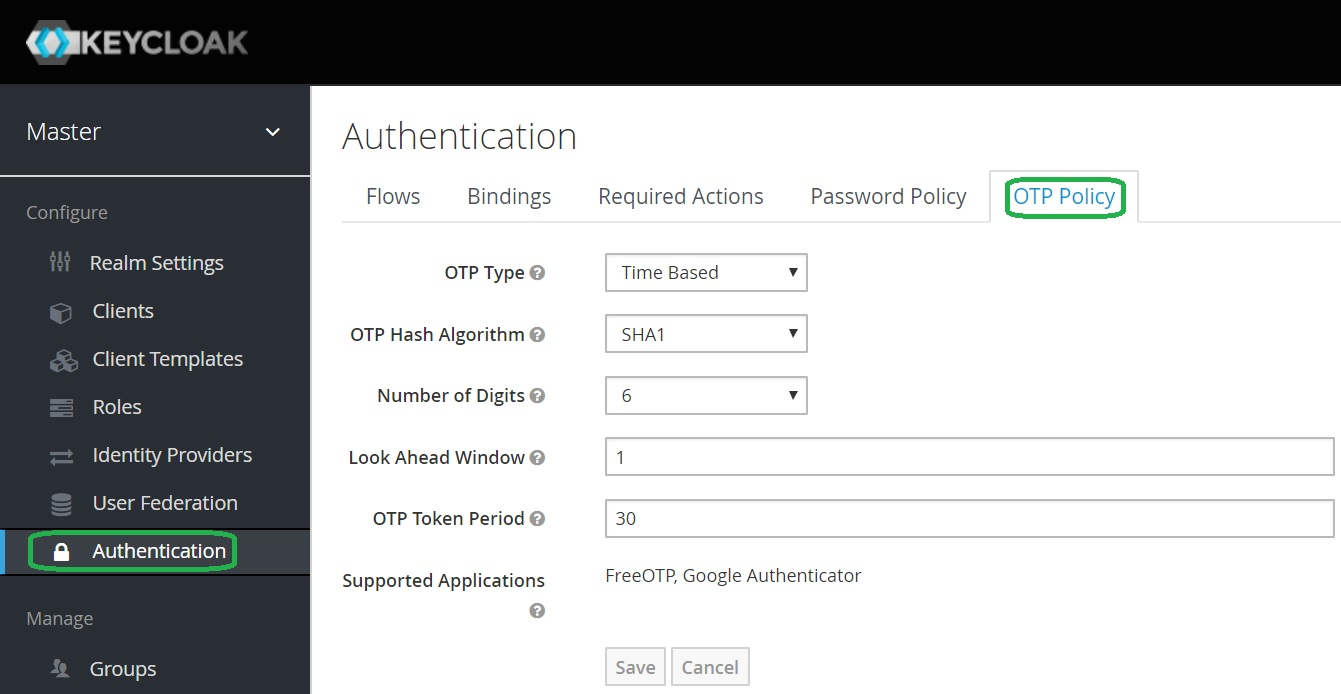 Keycloak Two-Factor Authentication · Ultimate Security Professional Blog